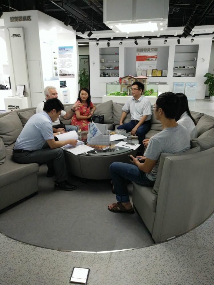 最新签单:衡阳碧桂园别墅美国特灵地源热泵项目